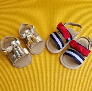 Bundle of 2 baby GAP Sandals
